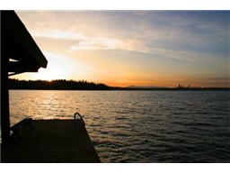 Stunning sunsets on the dock...you will never tire of this home'